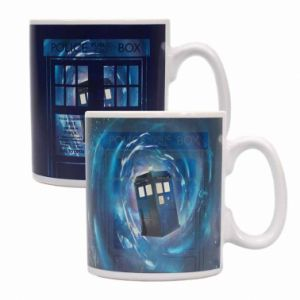 Doctor Who Tardis Heat Change Mug