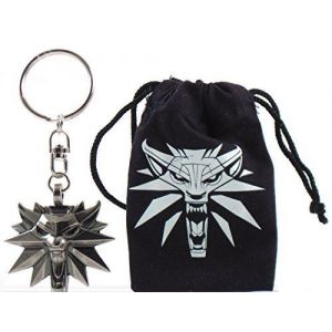 The Wolf Keyring