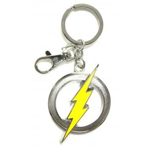 The Flash Pewter Keyring