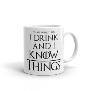 "Free ""I Drink and I Know Things"" Mug When You Spend £89 or More"