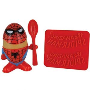 Spider-Man Egg Cup and Toast Stamp