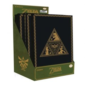 Legend of Zelda Triforce Light-Up Notebook