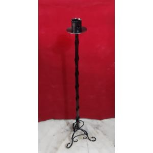 Cast Iron Medieval Candle Holder (Style 2)