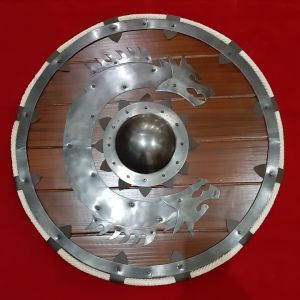Ragnar Lothbrok Viking Raider Shield