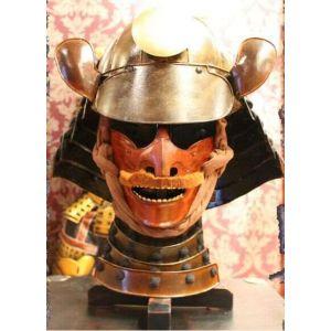 Samurai Warrior Facemask and Helmet