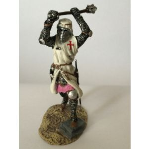 Pewter Crusader with Mace