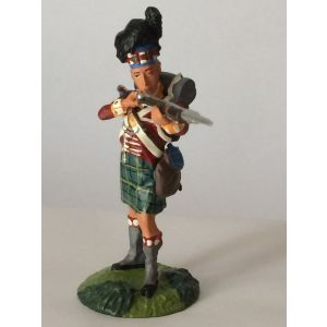 Pewter Gordon Highlander Rifleman