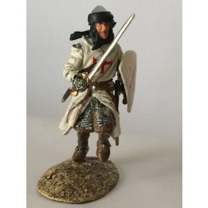 Pewter Crusader with Sword