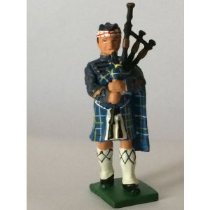 Pewter MacKenzie Seaforth Highlander Piper