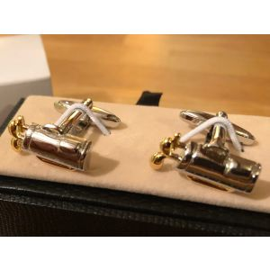 Cufflink Pair in Box Golf