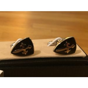 Cufflink Pair in Box Shields
