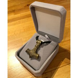 Thor Hammer Pendant In Box