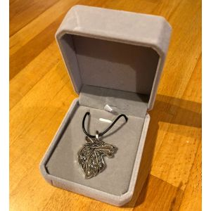 Snarling Wolf Pendant in Box