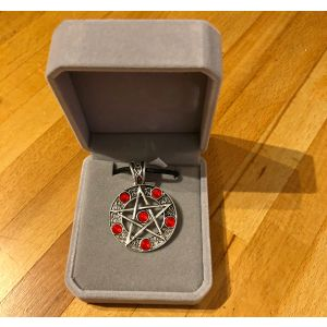 Pentagram Pendant in Box