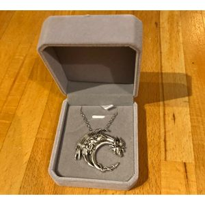 Flying Dragon Pendant in Box