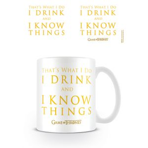 "Game of Thrones ""Drink and Know Things"" Mug"