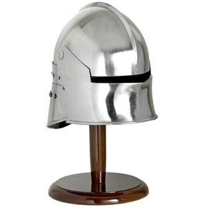Mini Sallet Helmet With Stand