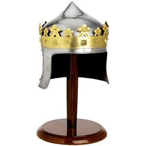 Mini Robert The Bruce Helmet With Stand