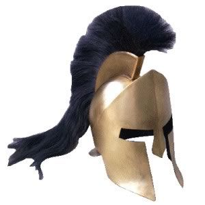 Helmet of Leonidas the Spartan