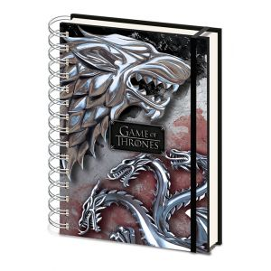 Stark and Targaryen A5 Notebook