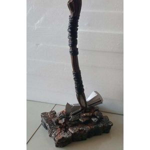 Large Resin Axe with Stand