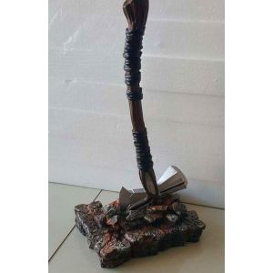 Small Resin Axe with Stand (36cm Long)