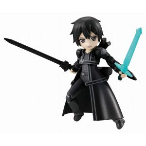8cm Kirito with Dark Repulser and Elucidator
